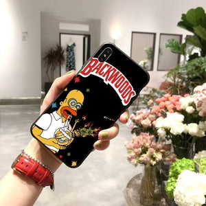 Backwoods Homer Phone Case