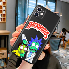 Load image into Gallery viewer, Backwoods Rick and Morty Phone Case