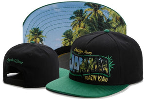 Greetings From Jamaica Blazin' Island Collector's Snapback