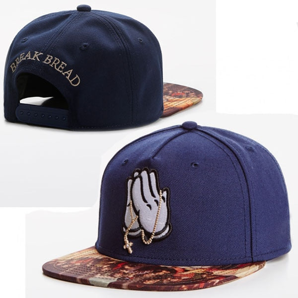 Break Bread Last Supper Bill Snapback