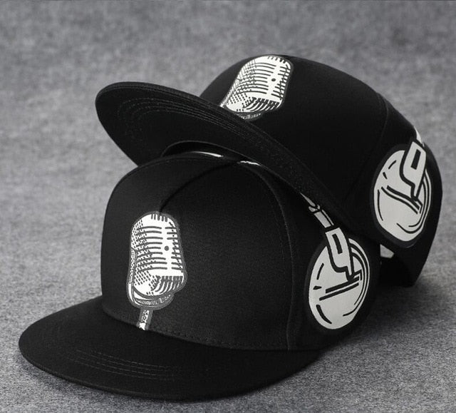 Retro Mic Lyricist Snapback