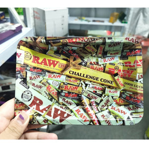 Challenge Cone Collectible Heavy Tin Tray