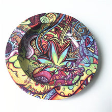 Load image into Gallery viewer, Smokie Exclusive Psychedelic Leaf Ashtray Collectible