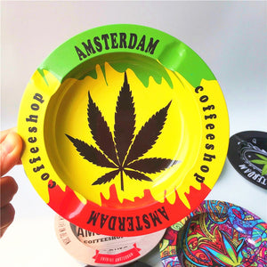 Smokie Amsterdam Coffeeshop Ashtray Collectible