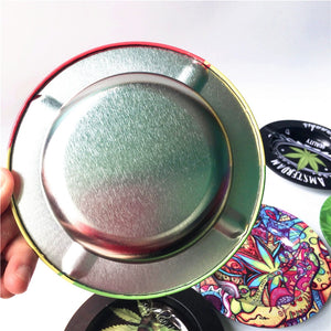 Smokie Exclusive Psychedelic Leaf Ashtray Collectible