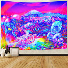 Load image into Gallery viewer, Extra Large Trippy Landscape Tapestry