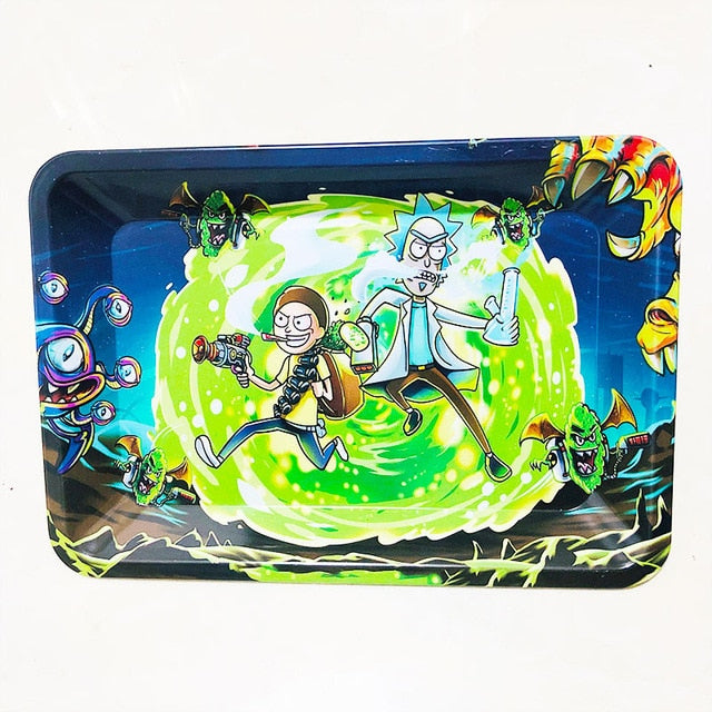 Morty Smoke Adventure Tray