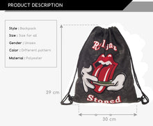 Load image into Gallery viewer, Rolling Stoned Heavy-duty Bag