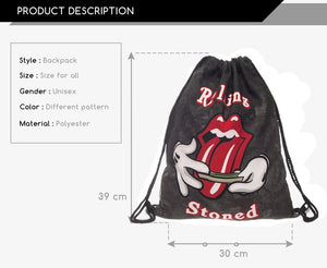 Rolling Stoned Heavy-duty Bag