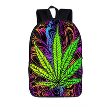 Load image into Gallery viewer, Smokie Exclusive Leaf Back-to-School Backpack