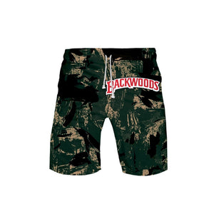 Backwoods Paint Stroke Board Shorts