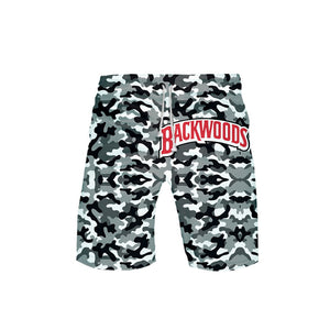 Backwoods Camo Board Shorts