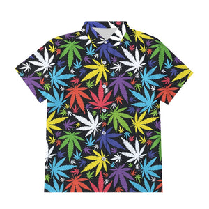 Leaf Hawaiian Island Vacay Shirt