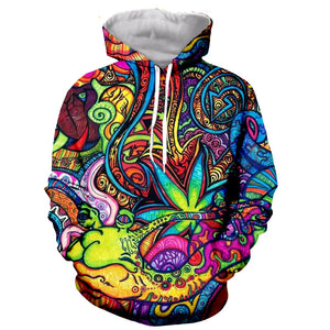 Psychedelic Leaf Fall/Winter Collection 2020 Hoodie/Sweatshirt