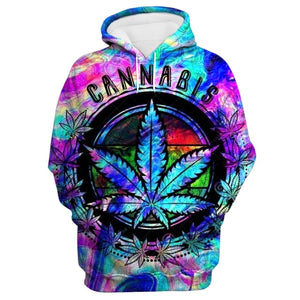 Cannabis Cup Psychedelic Collector's Hoodie