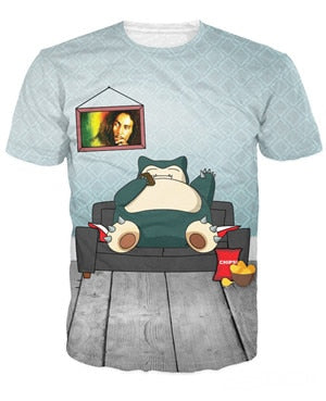 Snorlax and Marley Tshirt