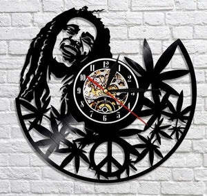 Marley One Love Collectible Clock with Color Changing LED