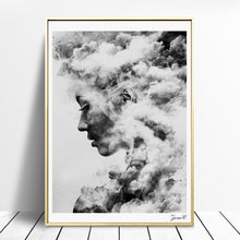Load image into Gallery viewer, Smoke Goddess Unframed Canvas