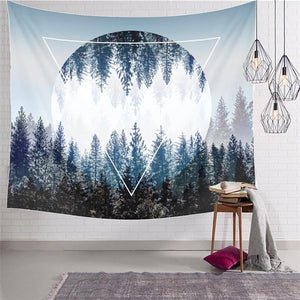 150CMX130CM Extra Dimension Forest Tapestry, Video Backdrop or Beach Blanket