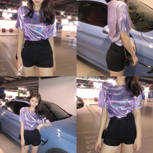Metallic T Shirt