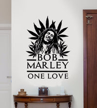 Load image into Gallery viewer, Marley One Love Leaf Wall Vinyl