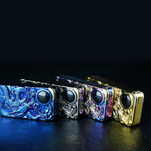 Load image into Gallery viewer, Dragon Double Arc Plasma Lighter Windproof USB Rechargeable
