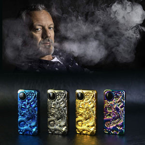 Dragon Double Arc Plasma Lighter Windproof USB Rechargeable