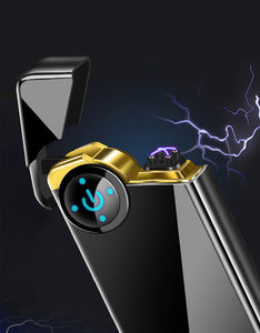 New Double Arc Plasma Windproof Lighter