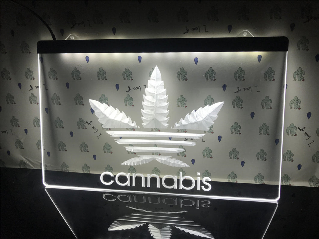 Cannabis Low-Energy Night Illumination