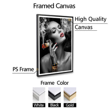 Load image into Gallery viewer, Cash Clouds Canvas