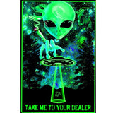 Take Me to Your Dealer Unframed Silk Canvas Poster
