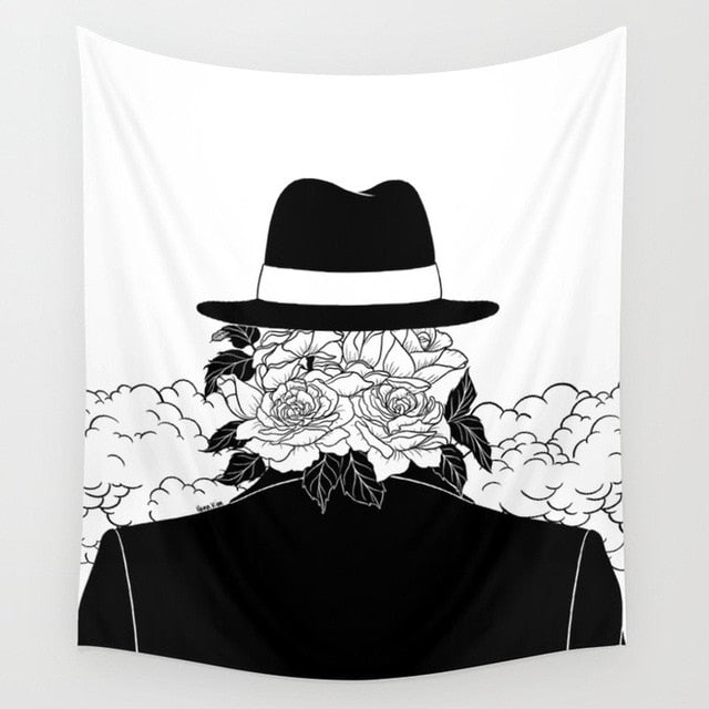 Mr Plant Tapestry, Sofa Cover or Video Backdrop