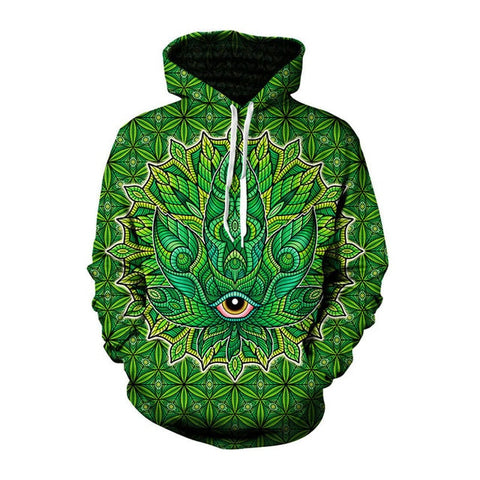 Kaleidoscope All-seeing Eye Hoodie