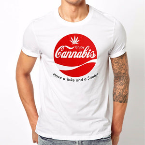 Have a Toke and Smile Tshirt (Available in Men's and Women's Tshirt Styles)