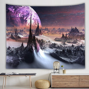 Distant Galaxy Tapestry
