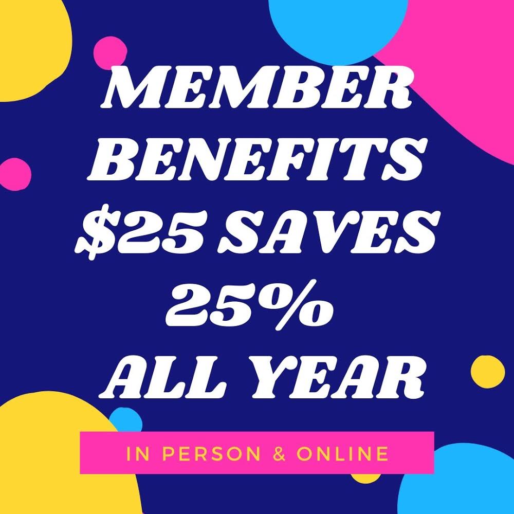 $25 saves you 25% All Year