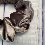 Steele Grey Velvet Fun-chies by Gracie
