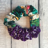 Trumpet Flower Dynamite Duo Scrunchie