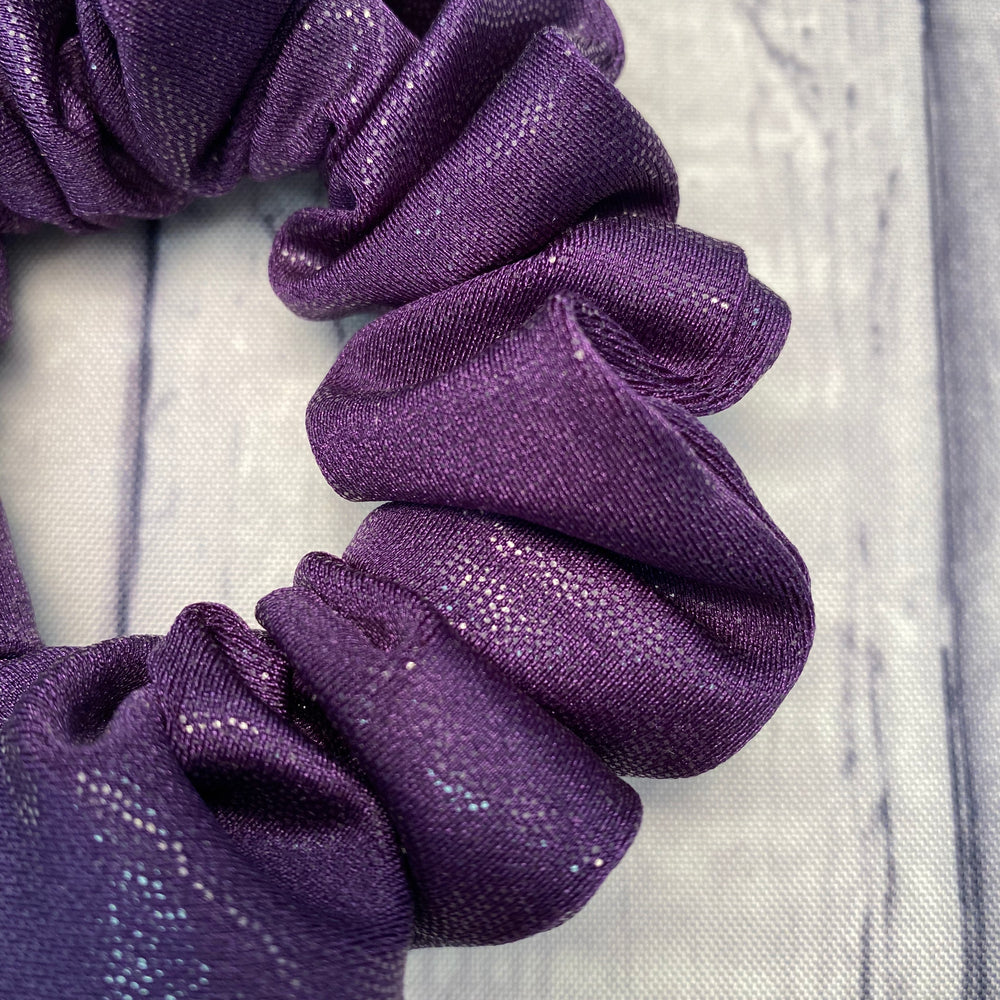 Purple Metallic Fun-chies by Gracie