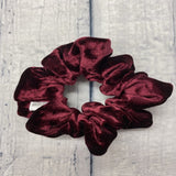 Burgundy Velvet Fun-chies by Gracie