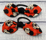 Disney Mickey Mouse Head Itty Bitty Matching Bows