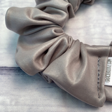 Heather Grey Pleather Fun-chies by Gracie