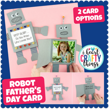 Load image into Gallery viewer, Robot Father's Day Card