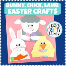 Load image into Gallery viewer, Easter Animal Crafts