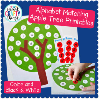 Apple Tree ABC Matching Game