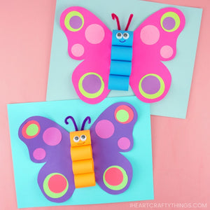 Butterfly Craft Template