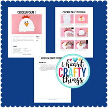 Load image into Gallery viewer, Farm Animal Crafts Bundle Pack