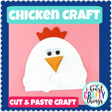 Load image into Gallery viewer, Chicken Animal Craft
