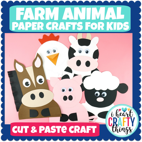 Farm Animal Crafts Bundle Pack