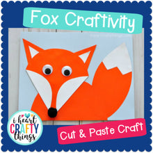 Load image into Gallery viewer, Fox Animal Craft